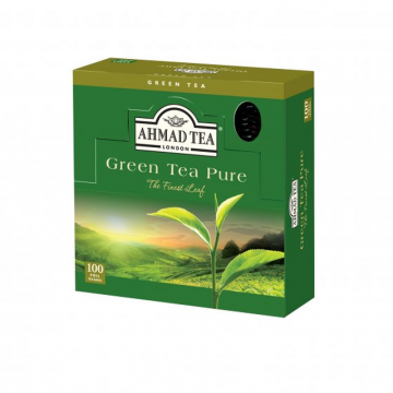 Green Tea Pure - 100 Foil - شاي اخضر فويل