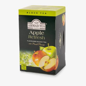 Apple Refresh Fruit Black Tea - 20 Foil - شاي بالتفاح