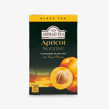Apricot Sunrise Fruit Black Tea - 20 Foil - شاي بالمشمش