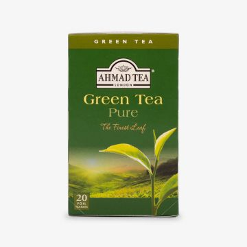 Green Tea Pure - 20 Foil - شاي اخضر فويل