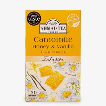 Camomile, Honey & Vanilla Infusion - Teabags