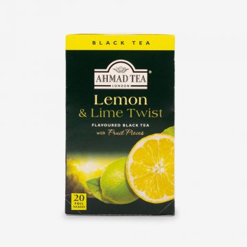 Lemon & Lime Twist Fruit Black Tea - 20 Foil - شاي باليمون