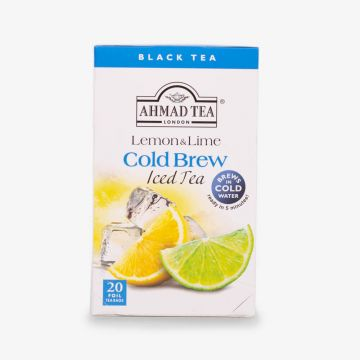 Lemon & Lime Cold Brew - Iced Tea - 20 Foil Teabags