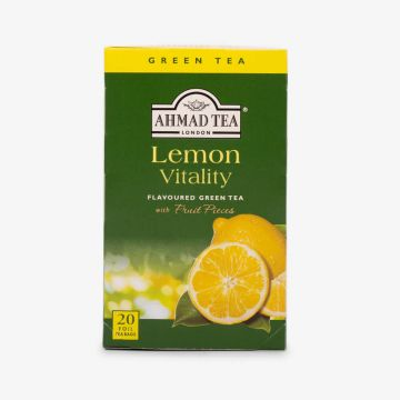 Lemon Vitality Green Tea - 20 Foil