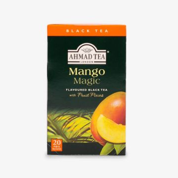 Mango Magic Fruit Black Tea - 20 Foil - شاي بالمانجو