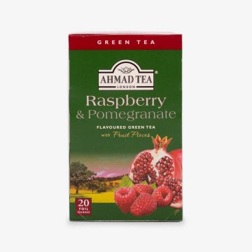 Raspberry & Pomegranate Green Tea - 20 Foil