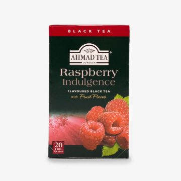 Raspberry Indulgence Fruit Black Tea - 20 Foil - شاي بالتوت