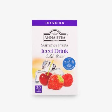 Summer Fruits Cold Brew - Iced Tea - 20 Foil Teabags